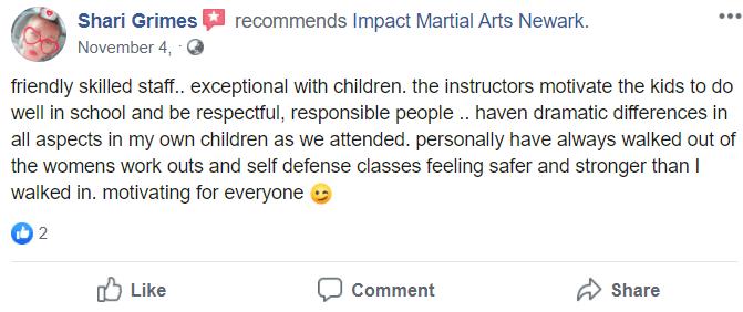 Kids3, Impact Family Martial Arts Newark OH